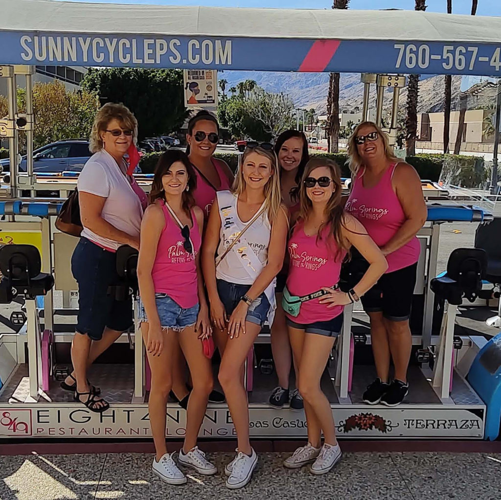 Sunny Cycle Parties Palm Springs